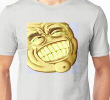 Golden kek - Big Grin (Grinface) - NEVER EVER - Epic lulz guy Unisex T-Shirt