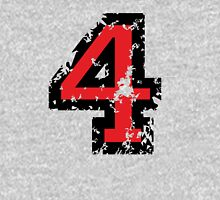 Number Four - No. 4 (two-color) red Unisex T-Shirt