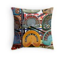 Tractor Seats Throw Pillow
