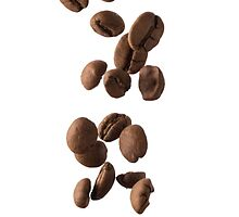 Coffee Beans [Phone Case] by Ilcho Trajkovski