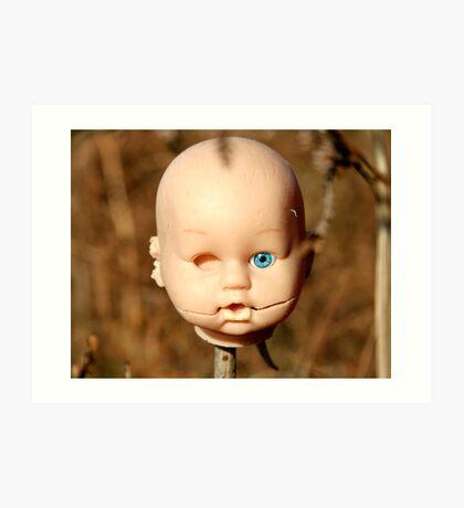 Dolls Head Art Print