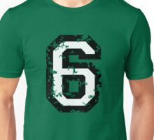 Number Six - No. 6 (two-color) white Unisex T-Shirt