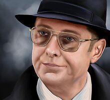James Spader as Raymond 'Red' Reddington by Richard Eijkenbroek