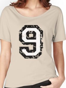 Number Nine - No. 9 (two-color) white Women's Relaxed Fit T-Shirt