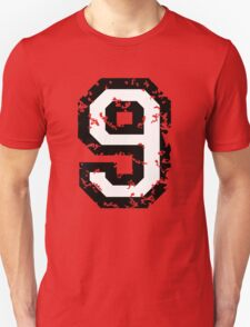 Number Nine - No. 9 (two-color) white Unisex T-Shirt