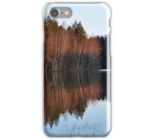 Autumn in Finland iPhone Case/Skin
