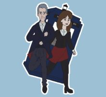 The Doctor and Clara by Shercockies