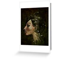 The Bride of Glass Blossoms Greeting Card