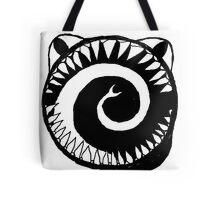 Round Scream Tote Bag