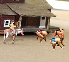 As far as I know, Dorothy is the first and only female Sumo rustler. by Susan Littlefield