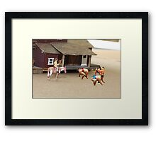 As far as I know, Dorothy is the first and only female Sumo rustler. Framed Print