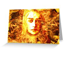 Daenerys Targaryen, Bride of Fire, Mother of Dragons Greeting Card
