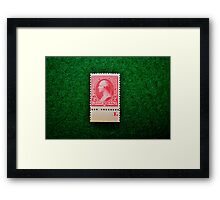 The American Bank Note Series of 1890 Framed Print