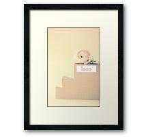 Love Books  Framed Print