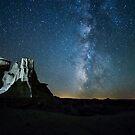 Badlands Milky Way by B Spencer