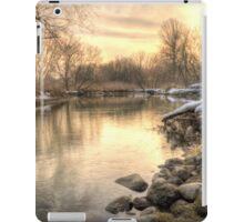 Along the Thames River  iPad Case/Skin