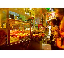 Meat on Sticks Photographic Print
