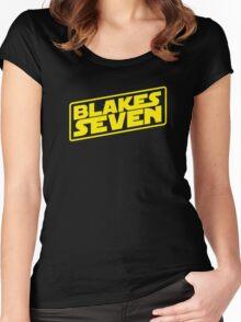 Blake's 7/Star Wars Women's Fitted Scoop T-Shirt