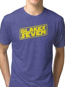 Blake's 7/Star Wars Tri-blend T-Shirt