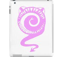 Round Scream in Pink iPad Case/Skin