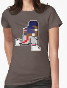 Nintendo Tecmo Bowl New York Giants Lawrence Taylor Womens Fitted T-Shirt