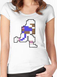 Nintendo Tecmo Bowl Buffalo Bills B Women's Fitted Scoop T-Shirt