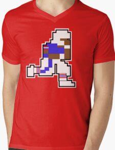 Nintendo Tecmo Bowl Buffalo Bills B Mens V-Neck T-Shirt