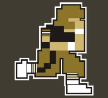 Nintendo Tecmo Bowl New Orleans Saints Drew Brees by jackandcharlie