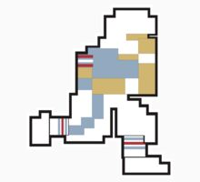 Nintendo Tecmo Bowl Houston Oilers (Titans) A by jackandcharlie