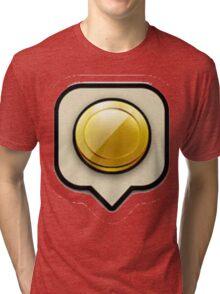 Clash Of clans Gold Tri-blend T-Shirt