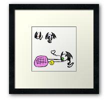 Fleye By Love Framed Print