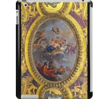 Versailles ceiling mural detail iPad Case/Skin