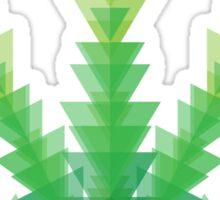 cannabis triangles Sticker