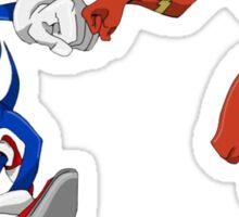 Sonic & Flash! Sticker