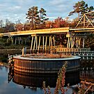 SWING BRIDGE IN NORTH MYRTLE BEACH by imagetj