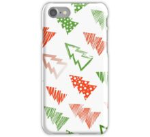 Christmas and New Year seamless pattern iPhone Case/Skin