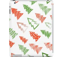 Christmas and New Year seamless pattern iPad Case/Skin