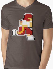 Nintendo Tecmo Bowl Washington Redskins Mens V-Neck T-Shirt
