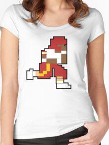 Nintendo Tecmo Bowl Washington Redskins RGIII Women's Fitted Scoop T-Shirt