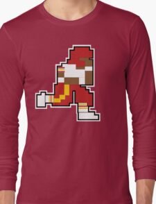 Nintendo Tecmo Bowl Washington Redskins RGIII Long Sleeve T-Shirt