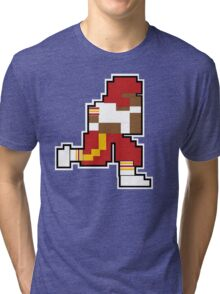 Nintendo Tecmo Bowl Washington Redskins RGIII Tri-blend T-Shirt