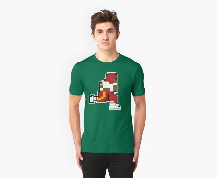 Nintendo Tecmo Bowl Washington Redskins RGIII by jackandcharlie
