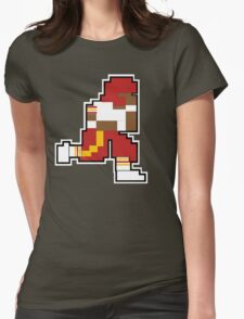 Nintendo Tecmo Bowl Washington Redskins RGIII Womens Fitted T-Shirt