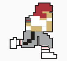 Nintendo Tecmo Bowl Atlanta Falcons  One Piece - Short Sleeve