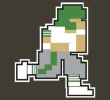 Nintendo Tecmo Bowl New York Jets A by jackandcharlie