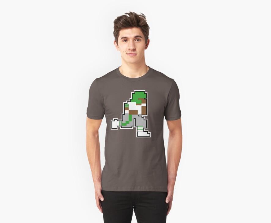 "Nintendo Tecmo Bowl Philadelphia Eagles ""QB Eagles"" by jackandcharlie"