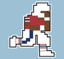 Nintendo Tecmo Bowl New England Patriots Andre Tippett by jackandcharlie