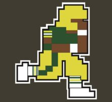 Nintendo Tecmo Bowl Green Bay Packers Sterling Sharpe by jackandcharlie