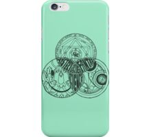 Superwholock Venn Diagram (Transparent) iPhone Case/Skin
