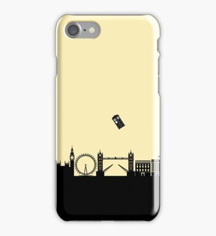 Tardis over London iPhone Case/Skin